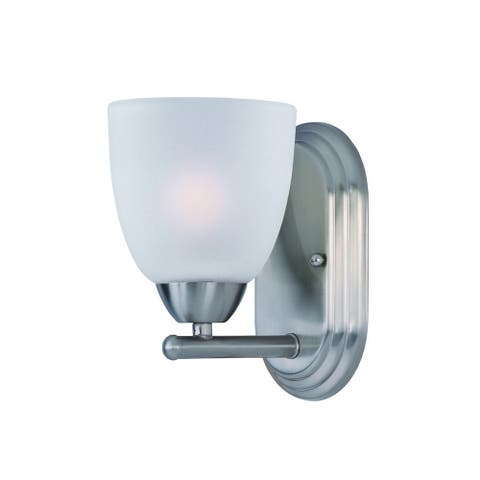 Maxim Nickel 1-light Axis Bath Vanity Light