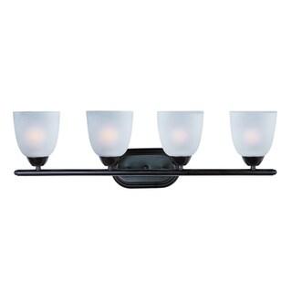 Maxim Bronze 4-light Axis Bath Vanity Light
