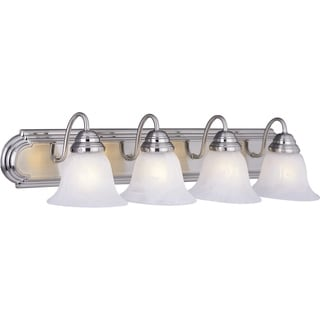 Maxim Nickel 4-light Essentials 801x Bath Vanity Light