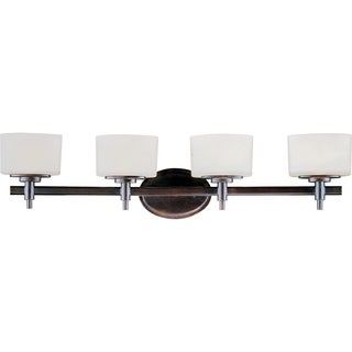 Maxim Bronze 4-light Lola Bath Vanity Light