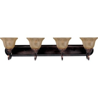 Maxim Bronze 4-light Symphony Bath Vanity Light