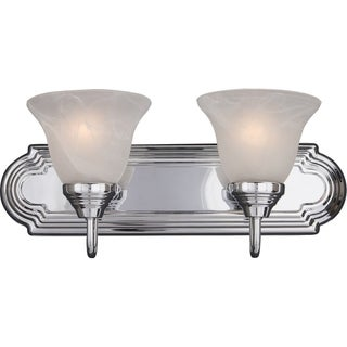 Maxim Chrome 2-light Essentials 801x Bath Vanity Light