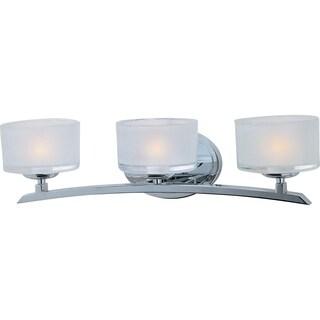 Maxim Chrome 3-light Elle Bath Vanity Light