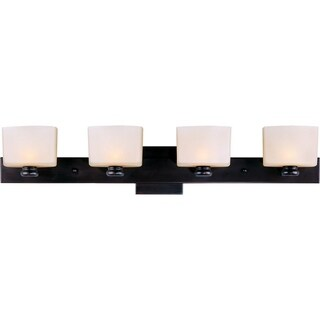 Maxim Bronze 4-light Essence Bath Vanity Light