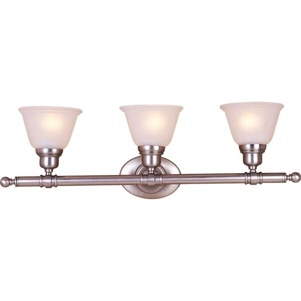 Shop Maxim Nickel 3 Light Essentials 714x Bath Vanity Light