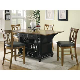 gracewood hollow seton two tone kitchen island - Black Kitchen Island