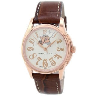 Hamilton Women's 'H32345983' Rose Gold Automatic Watch