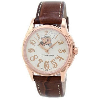 Hamilton Women's '' Rose Gold Automatic Watch