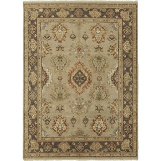 Hand-Knotted Oriental Gray/ Silver Area Rug (2' X 3')