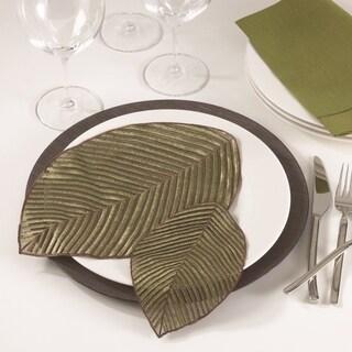 Leaf Design Doilies (Set of 4)