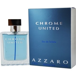 Azzaro Chrome United Men's 1.7-ounce Eau de Toilette Spray