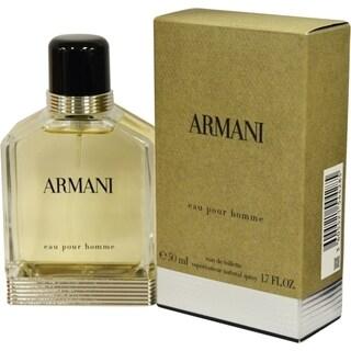 Giorgio Armani New Men's 1.7-ounce Eau de Toilette Spray (New Edition)