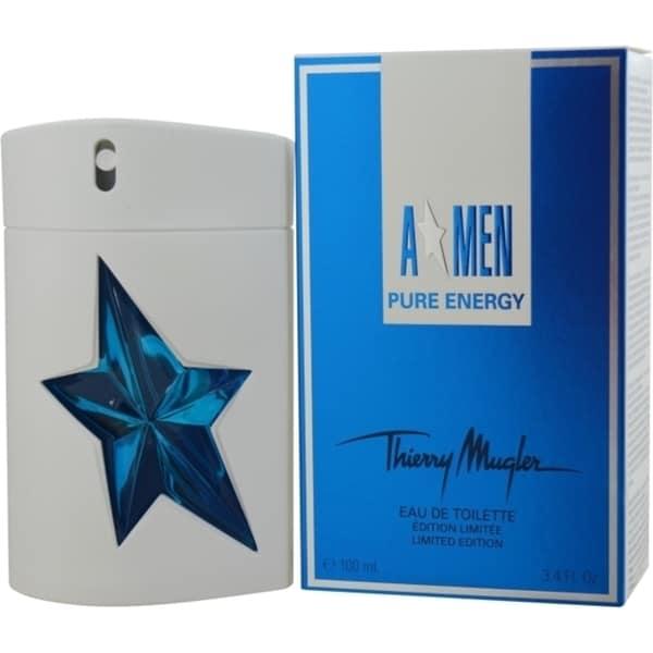 Thierry Mugler Angel Men Pure Energy Men's 3.4-ounce Eau de Toilette Spray