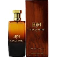 Hanae Mori Him Men's 1.7-ounce Eau de Toilette Spray