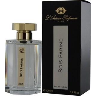 L'artisan Parfumeur Bois Farine Men's 3.4-ounce Eau de Toilette Spray