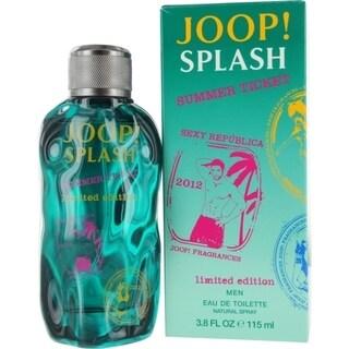 Joop! Splash Summer Ticket Men's 3.8-ounce Eau de Toilette Spray (Limited Edition)