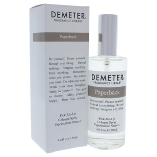Demeter Women's 4-ounce Paperback Cologne Spray
