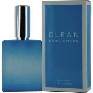 Clean Clean Cool Cotton Women's 2-ounce Eau de Parfum Spray