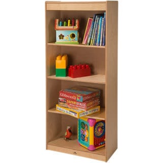 Whitney Brothers Tall Storage with Adjustable Shelves