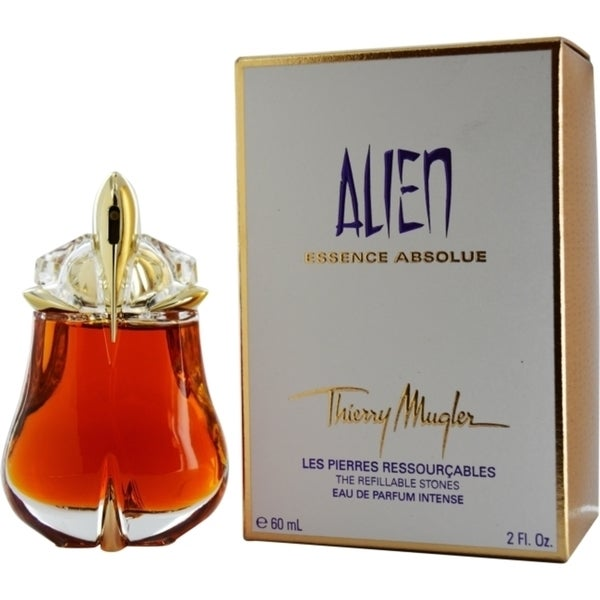 shop thierry mugler alien essence absolue women 39 s 2 ounce eau de parfum intense refillable spray. Black Bedroom Furniture Sets. Home Design Ideas