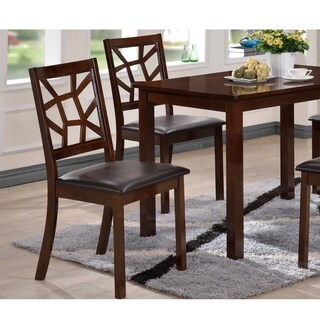 Baxton Studio Lucy Set of 2 Modern Dining Chair