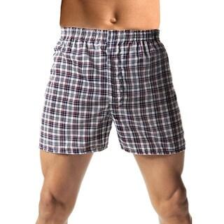 Hanes Men's TAGLESS Woven Comfort Flex Waistband 3x-5x Boxers (3-pack)
