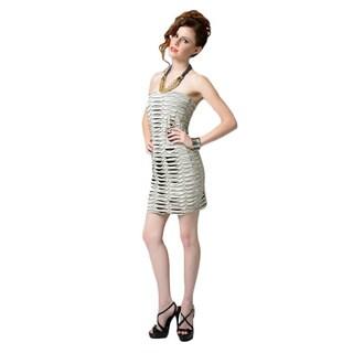 Sara Boo Strapless Knit Dress
