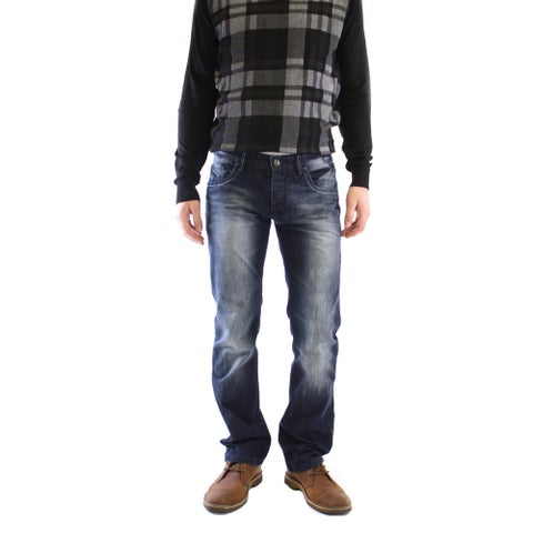 Dinamit Men's Lark Wash Straight Leg Jeans