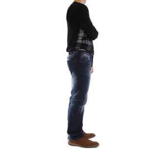 Dinamit Men's Lark Wash Straight Leg Jeans