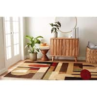 Home Dynamix Tribeca Collection Contemporary Area Rug - 5'2 x 7'2