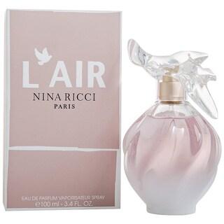 Nina Ricci Women's'L'air De Nina Ricci 3.4-ounce Eau de Parfum Spray