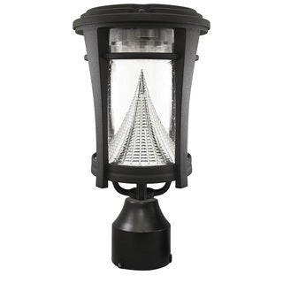 Gama Sonic GS-124FPW Aurora Solar Light with 6 LEDs, Multiple Mounting Options, Black Finish