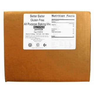 Better Batter 25-pound Gluten Free All Purpose Flour Mix
