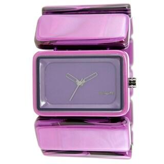 Nixon Women's A726-643 Vega Purple Marble Watch|https://ak1.ostkcdn.com/images/products/9792044/P16960506.jpg?_ostk_perf_=percv&impolicy=medium
