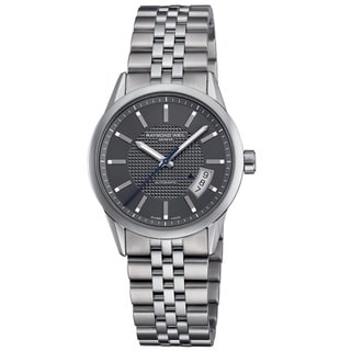 Raymond Weil Men's 2770-ST-60021 Freelancer Automatic Grey Dial Stainless Steel Watch