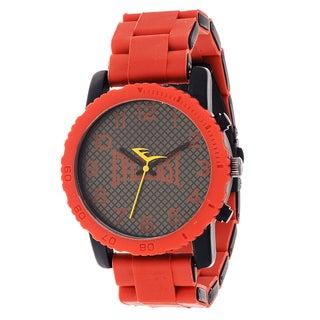 Everlast Sport Men's Dialog Red Rubber Strap Watch