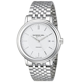 Raymond Weil Men's 2847-ST-30001 'Maestro' Analog Display Swiss Automatic Silver Watch