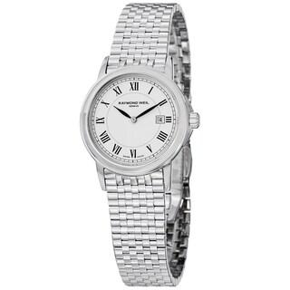 "Raymond Weil Women's 5966-ST-00300 ""Tradition"" Swiss Quartz Stainless Steel Watch"