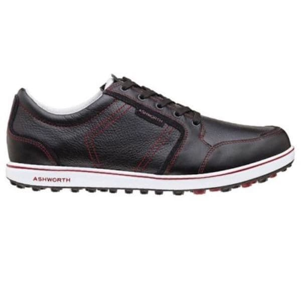 Ashworth Men's Cardiff ADC Spikeless Black Golf Shoes