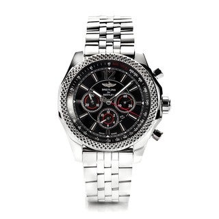Breitling Men's A4139024-BB82-984A Barnato 42MM Black Dial Automatic Watch