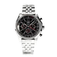 Breitling Men's  Barnato 42MM Black Dial Automatic Watch