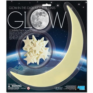 Toysmith Glow Moon and Stars