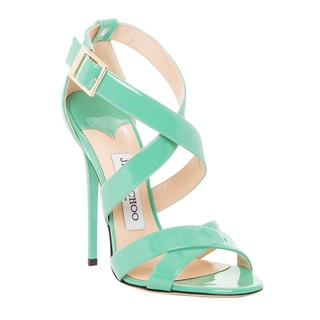 Jimmy Choo Patent Leather Xenia Strappy Sandal