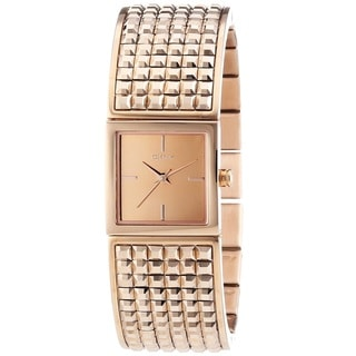 DKNY Women's NY2232 'Bryant Park' Rose Gold Tone Stainless Steel Crystal Watch