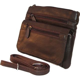 Belt Loop Waist Bag with Detachable Shoulder Strap