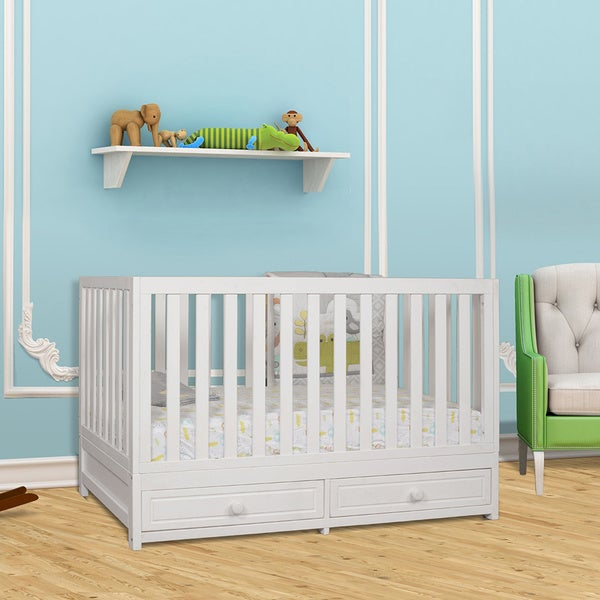 Mikala January 3-in-1 Convertible Crib