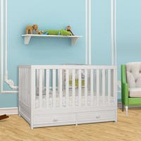 Mikala January 3-in-1 Convertible Crib