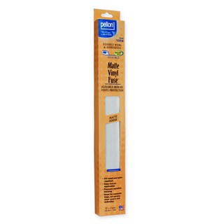 Pellon 102R-M Vinyl Fuse Matte Fle x ible Iron-On Vinyl Protection (15-inch x 2yd)