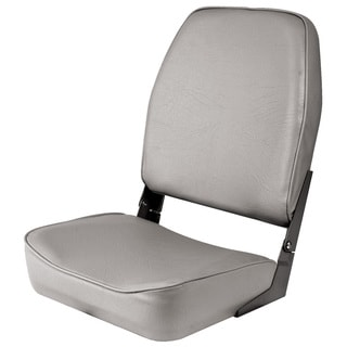 Shoreline Marine High Back Grey Boat Seat