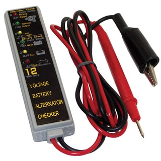 Shoreline Marine Battery Meter/ Alternator Checker